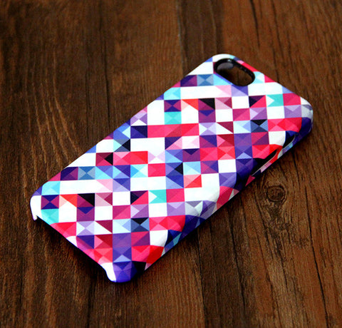 Abstract Mosaic Geometric Print iPhone 6 Case/Plus/5S/5C/5/4S Case 298 - Acyc - 1