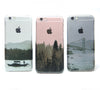 Landscape River Boats iPhone 6s Clear Case iPhone 6 plus Cover iPhone 5s 5 5c Transparent Case Samsung Galaxy S6 Edge S6 Case - Acyc - 2