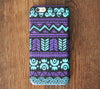 Turquoise And White Aztec Pattern iPhone 6 Case/Plus/5S/5C/5/4S Dual Layer Tough Case #704 - Acyc - 1