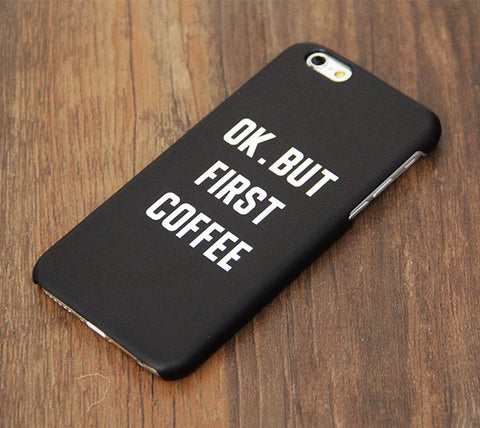 But First Coffee iPhone 6s Case/Plus/5S/5C/5 Dual Layer Tough Case #749 - Acyc - 1