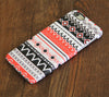 Tribal Red Aztec Pattern iPhone 6S Plus 6S/6 5S 5C 5 4 Dual Layer Durable Tough Case #755 - Acyc - 1