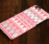 Pink Aztec iPhone 6S/6 Plus 5S 5C 5 4 Dual Layer Durable Tough Case #132 - Acyc - 1