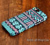 Turquoise Tribal Aztec iPhone 6S Plus 6S/6 5S 5C 5 4 Dual Layer Tough Case #106 - Acyc - 1