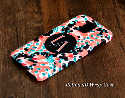 Abstract Printing Monogram Samsung Galaxy S6 Edge Plus/S6 Edge / S6/ S5/Note 5/Note 4  Protective Case - Acyc - 1