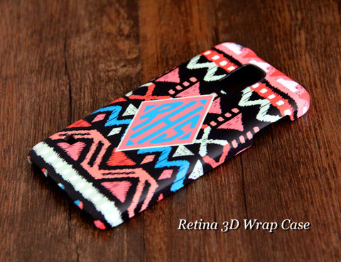 Native Geometric Monogram Samsung Galaxy S6 Edge Plus/S6 Edge / S6/ S5/Note 5/Note 4 e Case - Acyc - 1