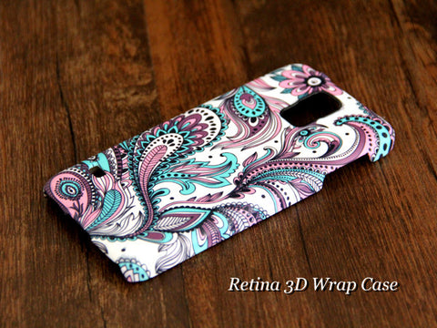 Peacock Feathers Samsung Galaxy S7/S7 Edge/S6 Edge Plus/S6 Edge/S6/S5/Note 5/Note 4 Case - Acyc - 1
