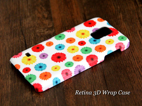 Chrysanthemum Floral Samsung Galaxy S6 Edge Plus/S6 Edge / S6/ S5/Note 5/Note 4  Protective Case - Acyc - 1