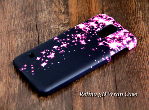 Pinky Stars Falling SamsungGalaxy S6 Edge Plus/S6 Edge / S6/ S5/Note 5/Note 4  Protective Case - Acyc - 1