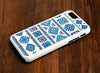 Retro Geometric iPhone 6 Plus 6 5S 5 5C 4S 4S 4  Tough Case 104 - Acyc - 2