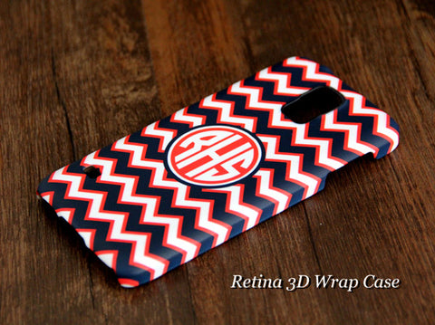 Fashion Chevron Monogram Samsung Galaxy S6 Edge Plus/S6 Edge / S6/ S5/Note 5/Note 4  Protective Case - Acyc - 1