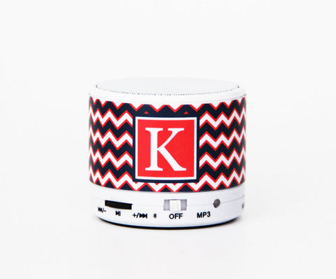 Teen Fashion Gift Chevron Custom Wireless Bluetooth Mini Speaker - Acyc - 1