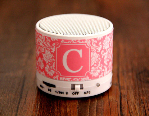 Stylish Floral Custom Wireless Bluetooth Mini Speaker for iPhone - Acyc - 1