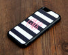 Teen Stripes Monogram iPhone 6 Plus 6 5S 5 5C 4 Tough Case 941 - Acyc - 2