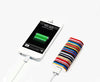 Lifestyle Stripe Portable Power Bank Charger for iPhone and Samsung - Acyc - 1
