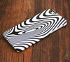 B/W Zebra Stripe iPhone 6s Plus/6/5S/5C/5/4S/4 Dual Layer Tough Case #433 - Acyc - 1