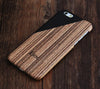 Men Style Wood Geometric Design Tough  iPhone 6s Case/Plus/5S/5C/5/SE Protective Case #441 - Acyc - 2