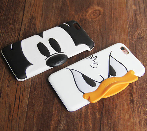 Minnie Mickey Mouse iPhone 6S 6 Case Donald Duck iPhone 6S 6 Plus Protective Case - Acyc - 1