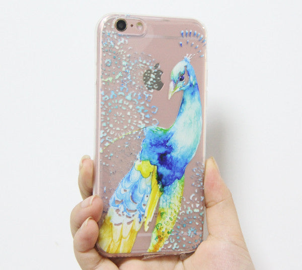 iphone 6 case peacock