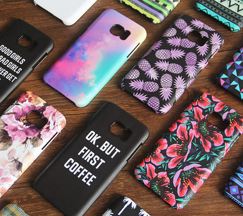 cheap for discount 1b227 d0c82 Good Girl Bad Girls Quotes Samsung Galaxy S7 Edge/S7/S6 Edge Plus/S6  Edge/S6/S5/S4/Note 5/Note 4/Note 3 Case 748