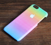 Gradient pastel iPhone 6S/6/Plus/SE/5S/5C/5/4S/4 Dual Layer Tough Case #136 - Acyc - 1