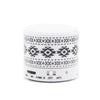 Retro Aztec B/W Portable Mini Bluetooth Speaker - Acyc - 3