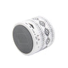 Retro Aztec B/W Portable Mini Bluetooth Speaker - Acyc - 4