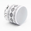 Retro Aztec B/W Portable Mini Bluetooth Speaker - Acyc - 2