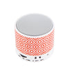 Indigo Ogee Pattern Design Wireless Portable Bluetooth Mini Speaker - Acyc - 2