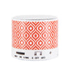 Indigo Ogee Pattern Design Wireless Portable Bluetooth Mini Speaker - Acyc - 1