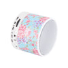 Blue Flowers Pastel Design Wireless Portable Bluetooth Mini Speaker - Acyc - 2