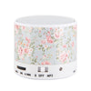 Flowers Pastel Design Portable Bluetooth Mini Speaker - Acyc - 4