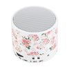 Floral White Pastel Design Wireless Portable Bluetooth Mini Speaker - Acyc - 2