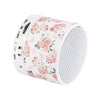 Floral White Pastel Design Wireless Portable Bluetooth Mini Speaker - Acyc - 3