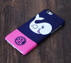 Cute Whale Monogram iPhone 6S 6 Plus 5S 5 5C  Dual Layer Durable Tough Case #992 - Acyc - 1