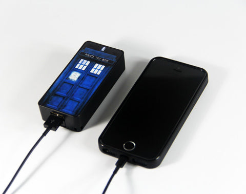 Tradis Doctor Who Police Call Box Power Bank External Battery Charger for iPhone and Samsung Andriod - Acyc - 1