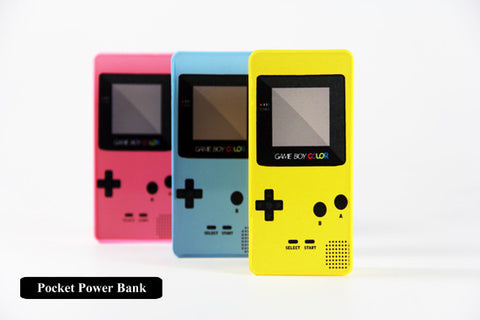 Gameboy Series Power Bank External Battery Charger for iPhone and Samsung Andriod - Acyc - 1