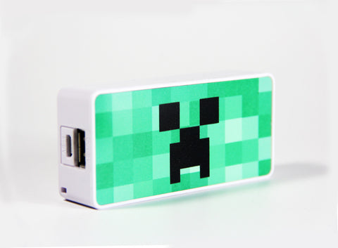 Minecraft Creeper Power Bank External Battery Charger for iPhone and Samsung Andriod - Acyc - 1