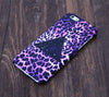 Pink and Black Leopard Triangle Design iPhone 6 Case/Plus/5S/5C/5/4S Dual Layer Durable Tough Case #583 - Acyc - 1