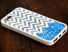 Blue Glitter iPhone 6 Plus 6 5S 5 5C 4 Rubber Case - Acyc - 2