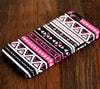 Aztec Pink Geometric  iPhone 6 Plus 6 5S 5C 5  Dual Layer Durable Tough Case  #117 - Acyc - 1