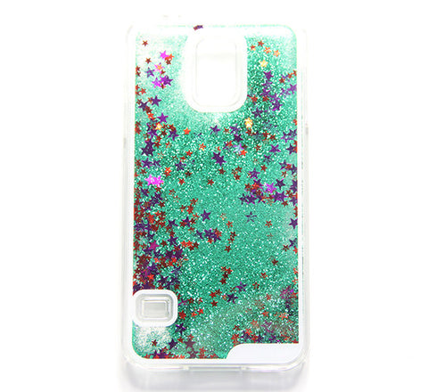 Green Glitter Waterfall Samsung S5 Case Galaxy S6 Edge S6  Case - Free Shipping - Acyc