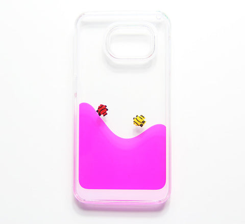 Pink Swimming Water Fish  Samsung Galaxy S6 Edge S6 S5 Case - Free Shipping - Acyc - 1