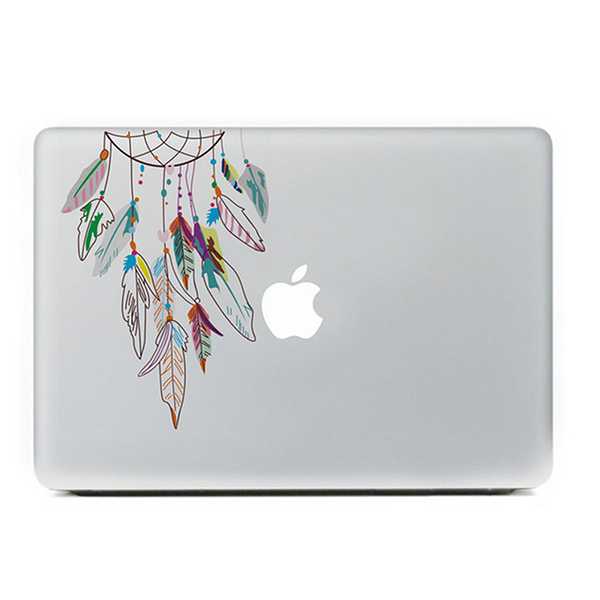 new arrival 29409 da7d1 Colorful Dreamcatcher DIY Macbook Laptop decal sticker skin for Retina