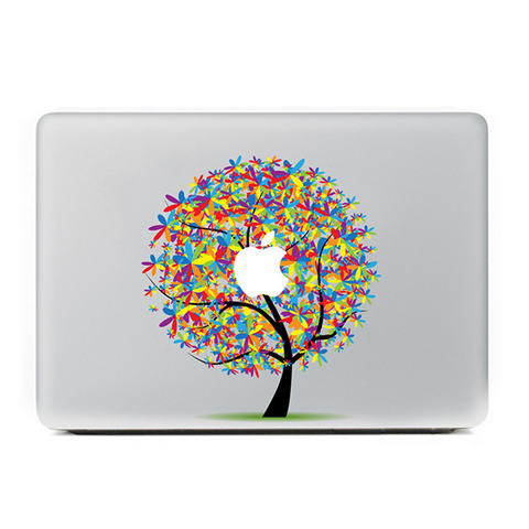 "Colorful Loving Tree DIY Macbook Laptop decal sticker skin for Retina Pro Air 13"" - Acyc - 1"