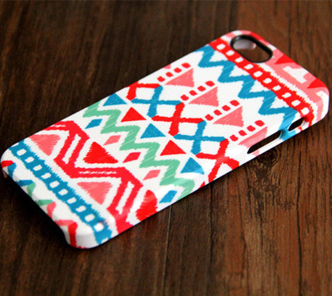 Native Aztec Ethnic Tough iPhone 6s Plus 6 5S 5C 5 SE Dual Layer Protective Case #224 - Acyc - 1