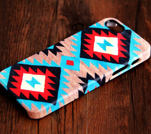 Navajo Unique Geometric iPhone 6s Plus 6 5S 5C 5 4 Dual Layer Tough Case #215 - Acyc - 1