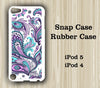 Orchid Floral Pattern Touch 5 Case iPod Touch 4 Case - Acyc - 1