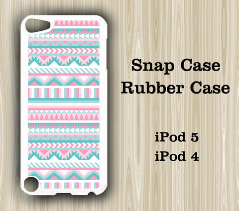 Pink Geometric  iPod Touch 5 Case iPod Touch 4 Case - Acyc - 1