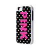 Pink Polka Dots iPhone Cases and Samsung Cases - Acyc - 1