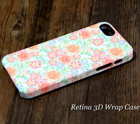 Chic Flowers iPhone 6S 6 Plus 5S 5C SE Dual Layer Durable Tough Case #227 - Acyc - 1